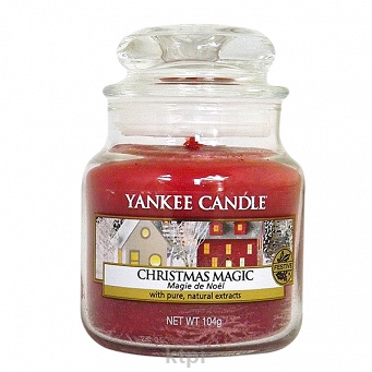 YANKEE CANDLE ŚWIECZKA CHRISTMAS MAGIC 104g