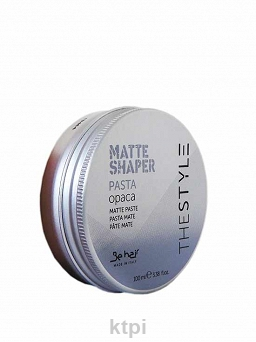 BE COLOR THE STYLE MATTE SHAPER PASTA 100 ml
