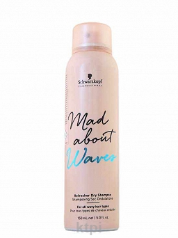 SCHWARZKOPF MAD ABOUT WAVES SUCHY SZAMPON 150 ml