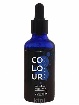 Subrina Colour Drops Pigment Blue 50 ml