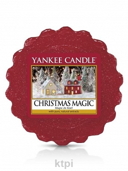 YANKEE CANDLE WOSK ŚWIECZKA CHRISTMAS MAGIC 22 g