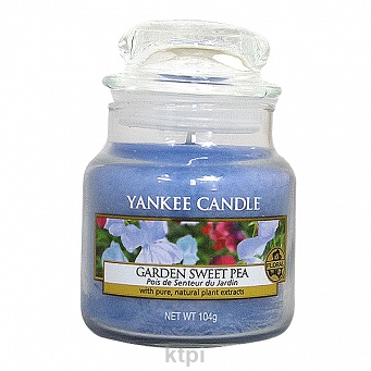 YANKEE CANDLE GARDEN SWEET PEA 104g
