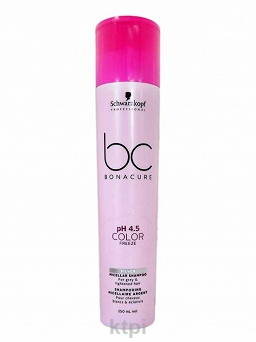 SCHWARZKOPF BC COLOR FREEZE SILVER SZAMPON 250 ml