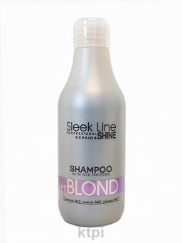 Stapiz Sleek Line Szampon Violet Blond 300 ml