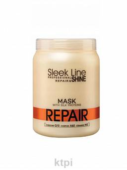 STAPIZ MASKA SLEEK LINE REPEAIR Z JEDWABIEM 1000