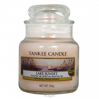 YANKEE CANDLE ŚWIECZKA LAKE SUNSET 104G