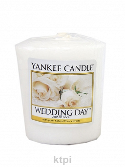YANKEE CANDLE ŚWIECA WEDDING DAY 49 g