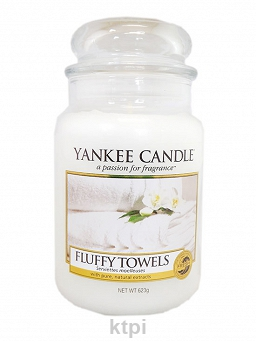 YANKEE CANDLE ŚWIECA FLUFFY TOWELS 623 g