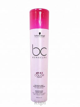 SCHWARZKOPF BC COLOR FREEZE SZAMPON BEZ SLS 250 ml