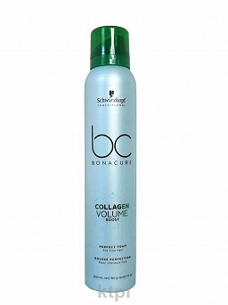 SCHWARZKOPF BC COLLAGEN VOLUME BOOST PIANKA 200 ml