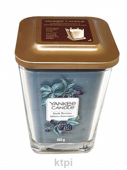 YANKEE CANDLE ŚWIECA DARK BERRIES 552 g
