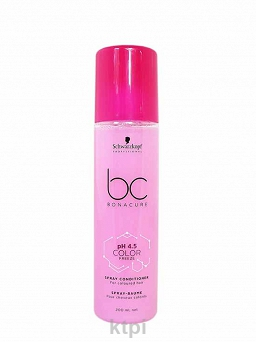 SCHWARZKOPF BC COLOR FREEZE ODŻYWKA SPRAY 200 ML