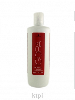 SCHWARZKOPF IGORA ROYAL DEVELOPER WODA 6% 1000ML