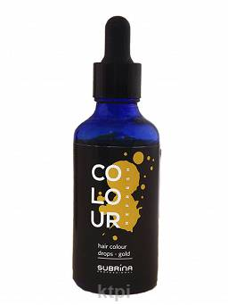 Subrina Colour Drops Pigment Gold 50 ml