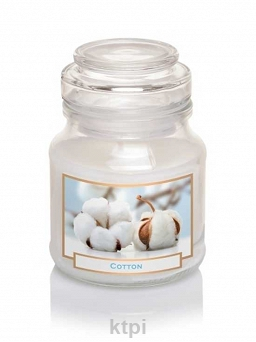 BARTEK CANDLES ŚWIECZKA WELLNESS BEAUTY COTTON 130