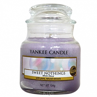 YANKEE CANDLE ŚWIECZKA SWEET NOTHINGS 104g
