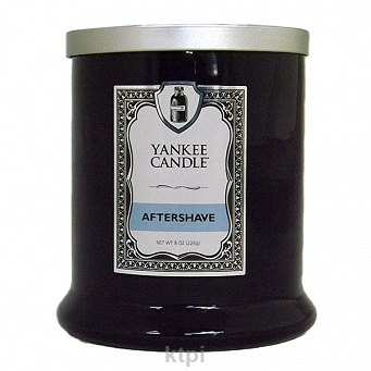 YANKEE CANDLE BARBERSHOP ŚWIECZKA AFTERSHAVE 226g